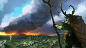 Nature's Prophet - Dota 2 by entroz