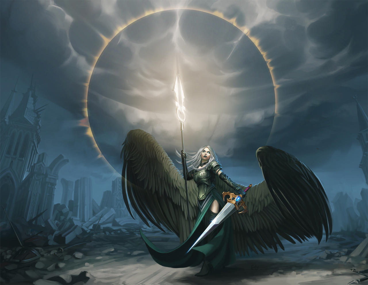 angel photoshop fantasy famale - photo #45