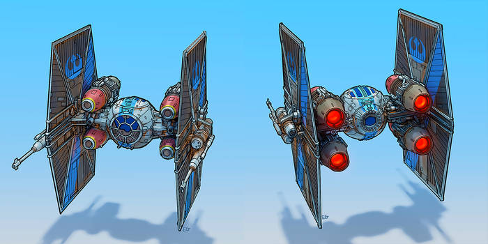 Rebel TIE fighter