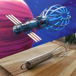 Deep Space Colony Ship