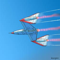retro spaceplane!