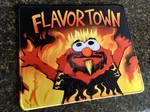 Flaming Elmo Guy Fieri