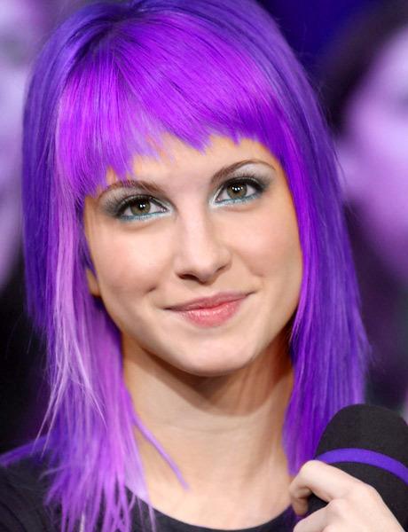 hayley williams purple hair - photo #4