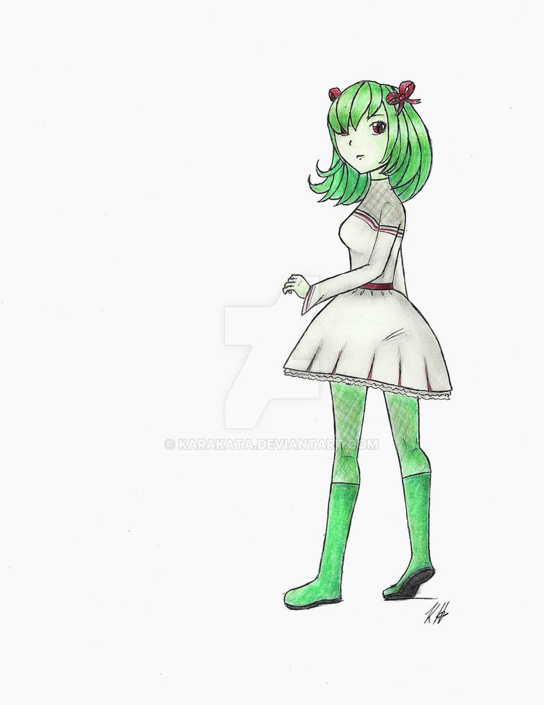 Pokemon #281: Kirlia - Gijinka by Karakata