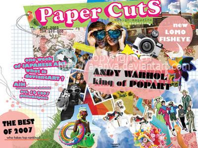 paper cuts magz. by a-anya