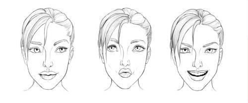 Lara Croft collab by Pencil-Stencil