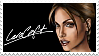 Lara Croft Stamp by Pencil-Stencil