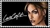 Lara Croft Stamp by Pencil-Stencil