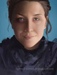 Tamara paint study