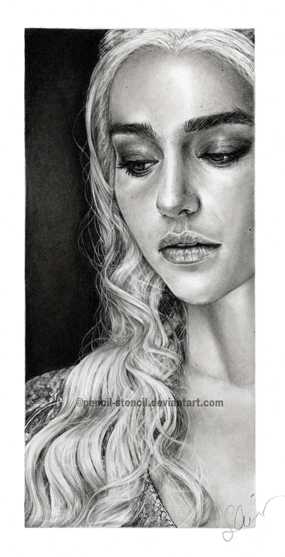 Daenerys by Pencil-Stencil