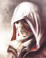 Ezio Carnivale Mask by CatsandJammers