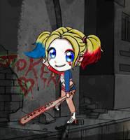 Harley Quinn by CatsandJammers