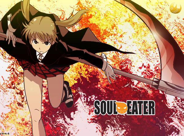 Wallpaper Maka Soul Eater by rene29