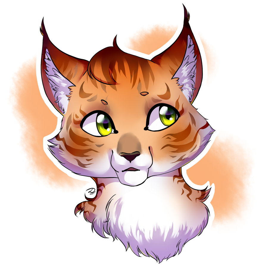 Ginger cat by DariaHappy