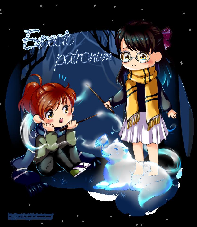 Expecto patronum! by DariaHappy