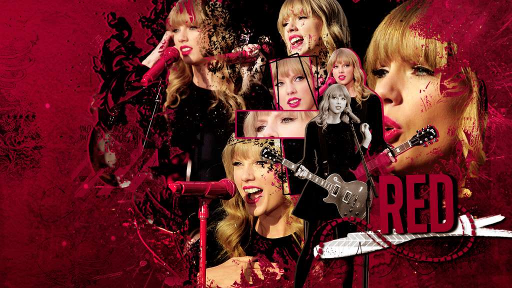 Wall RED Taylor Swift Red Wallpaper 2012