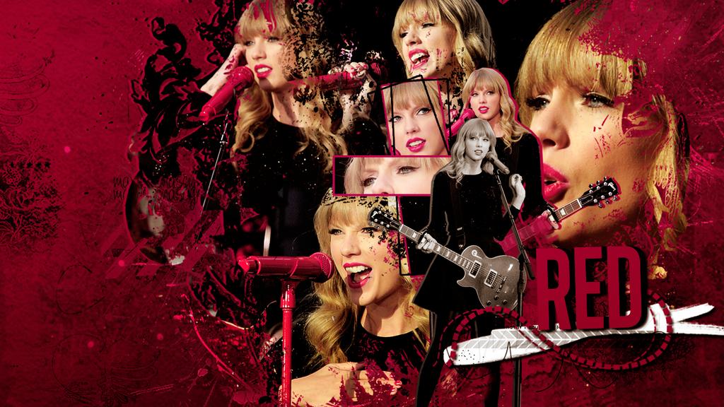 Wall RED Taylor Swift By Martha-JB On DeviantArt
