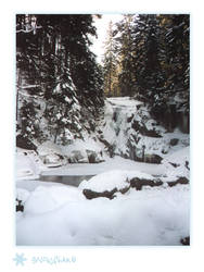 SnowFlake  Frozen Waterfall by reticulum