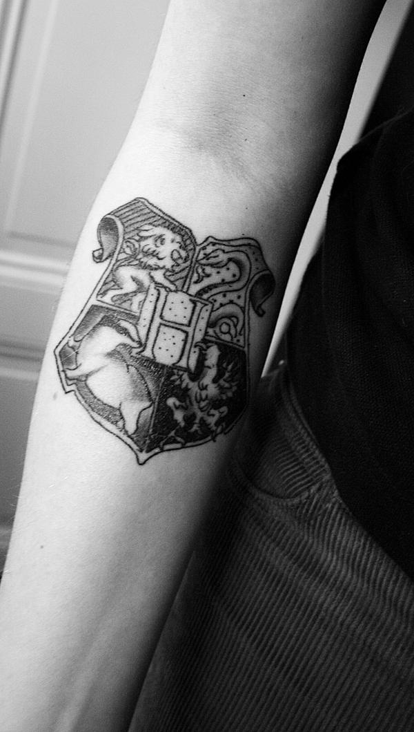 Harry Potter tattoo by ISAWTHESTARSTONIGHT