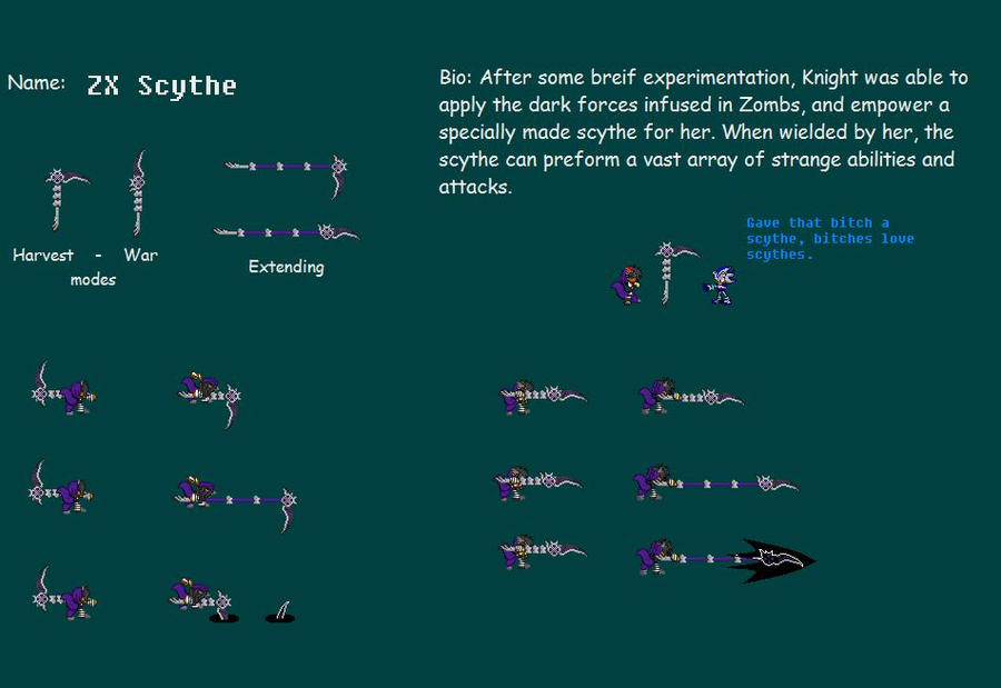 The ZX Scythe by moralde10