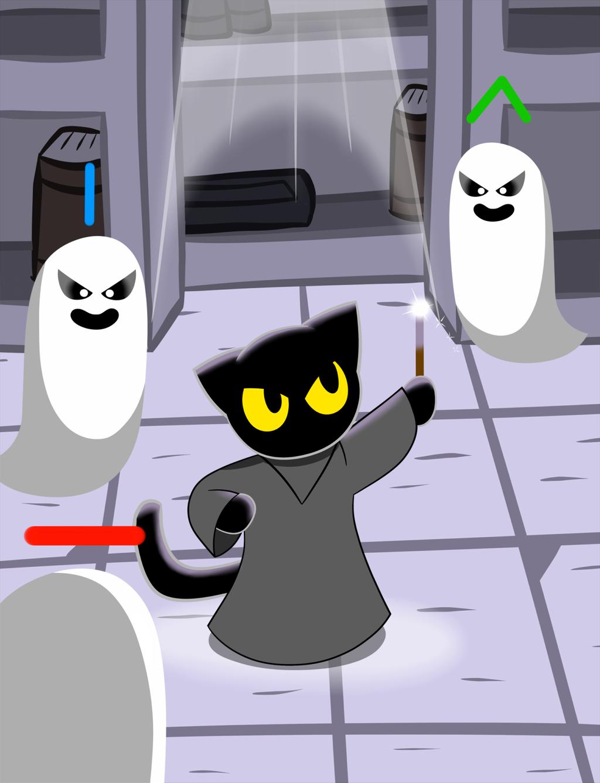 Google Halloween Cat Game favourites by Mixola200815 on DeviantArt