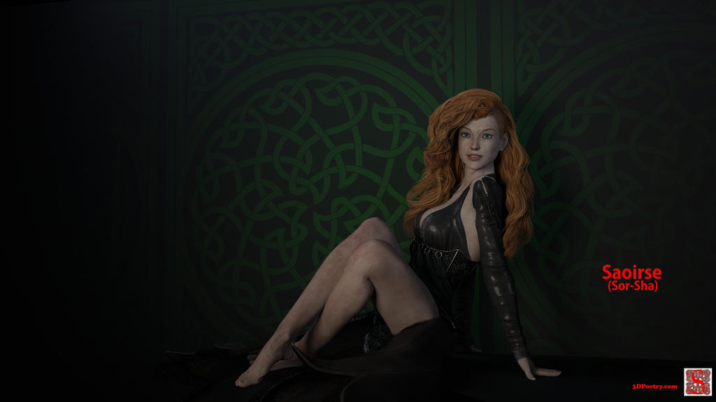 Saoirse Debut by 3D-Poetry