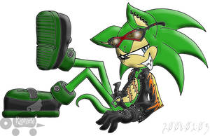 Scourge The Hedgehog by Rapha-chan