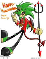 Halloween 2008: Devil Scourge by Rapha-chan
