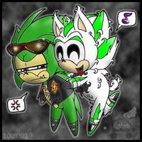 S+L: Green Pi Deserves A Hug! by Rapha-chan