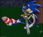 Sonic+Caliburn: Standing Watch