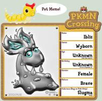 PKMNC: Pet Meme - Iblis The Shiny Slugma by Rapha-chan