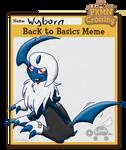 PKMNC: Meme - Wyborn Goes Back To Basics