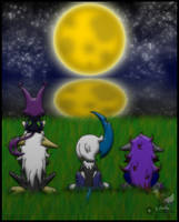 PKMNC: Harvest Moon Festival - Moon Viewing