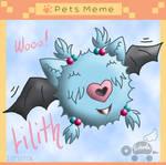 PKMNA: Pet Meme - Lilith The Woobat