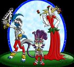 PKMNC: Rose War - Knights And A... Princess?! by Rapha-chan
