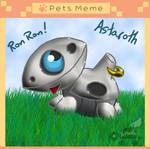 PKMNA: Pet Meme - Astaroth The Aron