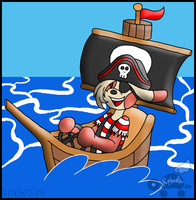 PKMNA: Pirates - Set Sail For The Open Sea! by Rapha-chan