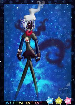 PKMNA: Alien Meme - Jace, The Pitch-Black Pokemon
