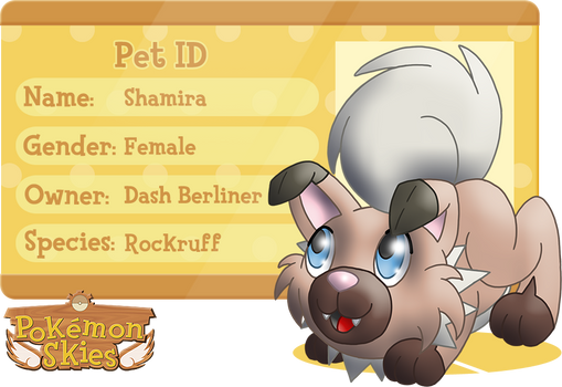 PKMNSkies: Dash's Pet - Shamira