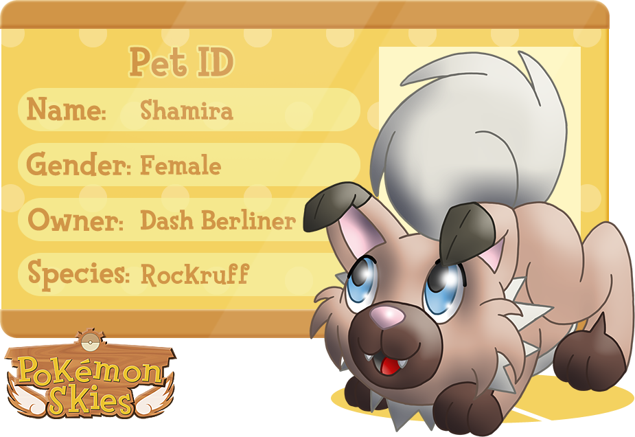 PKMNSkies: Dash's Pet - Shamira