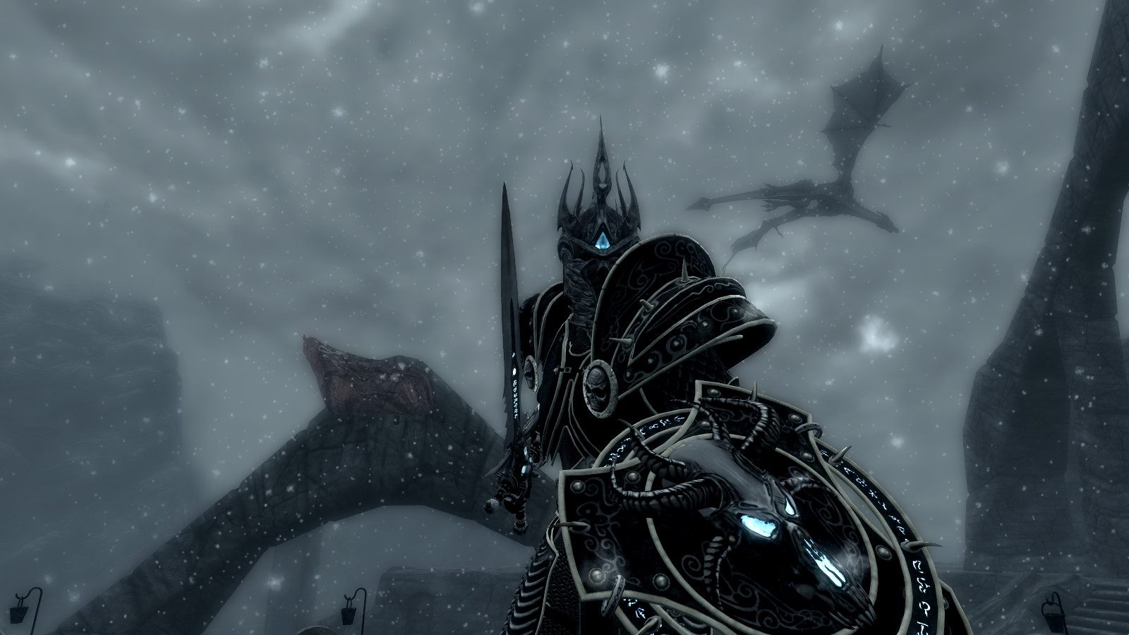 The Lich King Decends Into Darkness by kordulus