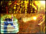 League Of Legends Fan Art - Nocturne vs Gangplank