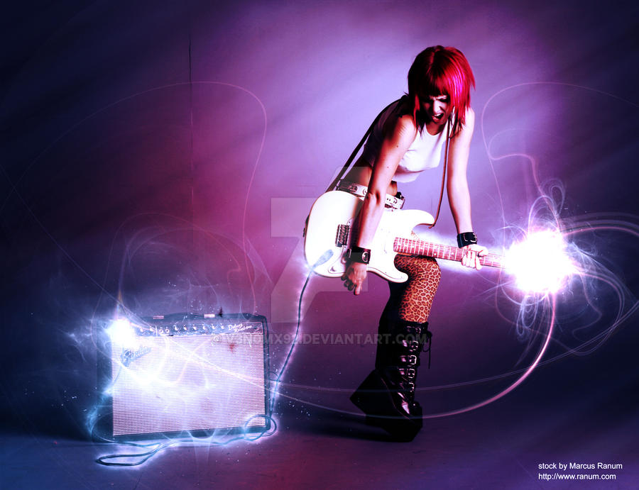 Rock On Photo Manipulation