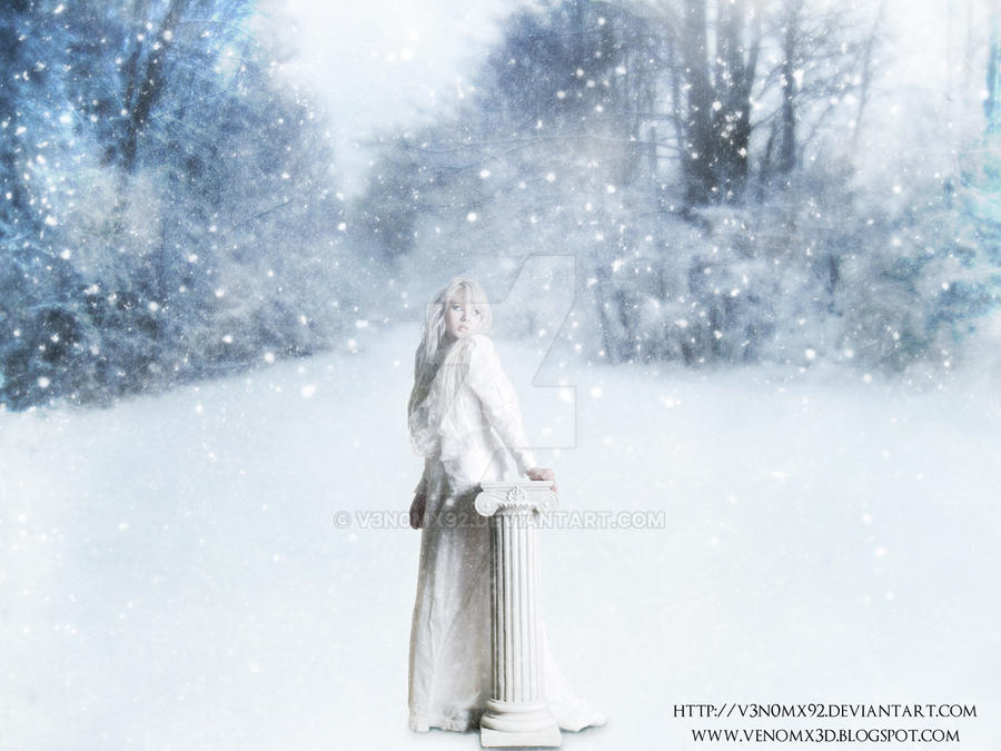 Winter Queen Photo Manipulation by V3N0MX92