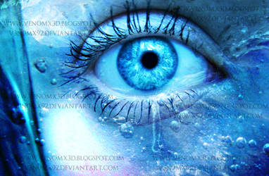 Frozen Tears Photo Manipulation