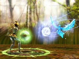 Orianna vs Anivia - LoL Fan Art