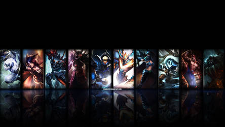 League of Legends Wallpaper by V3N0MX92