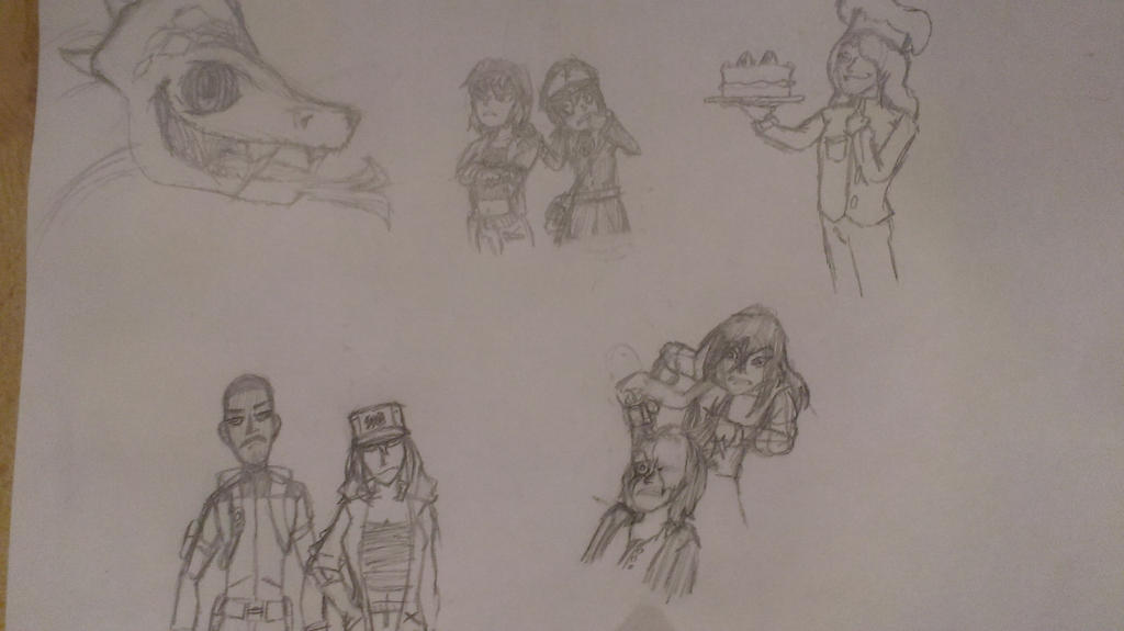 dice doodles by Funnyguy1444