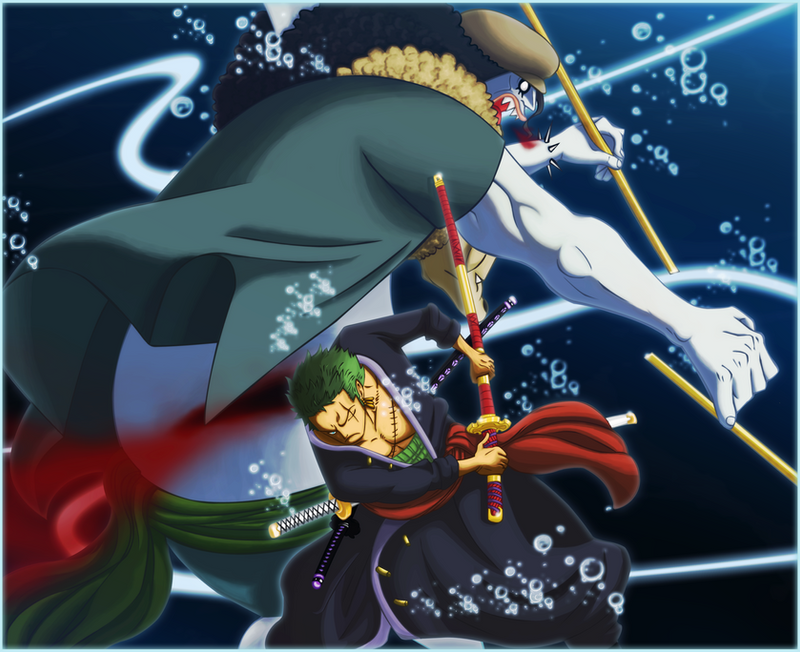 Colo 007 Zoro Vs. Hodi by dDsign