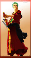 Roronoa Zoro 2Y by dDsign